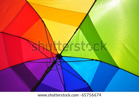 Shade of colors - stock photo