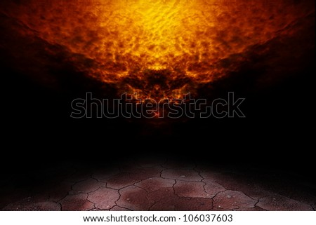 Shadows of the abstract. - stock photo