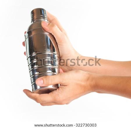 Shake it off - stock photo