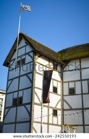 Shakespeare Theatre - stock photo