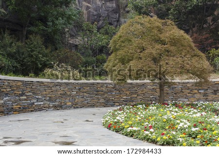 Shanghai Chenshan botanical garden - stock photo