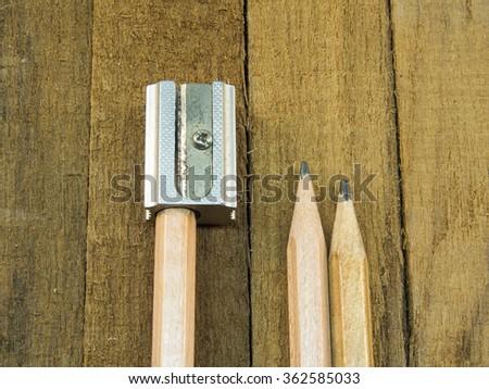 sharpener  - stock photo