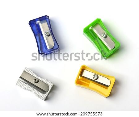 sharpeners - stock photo
