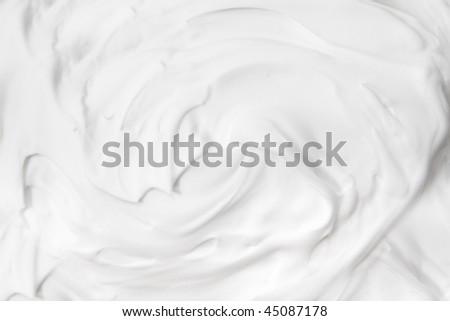 shaving cream background - stock photo