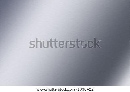 Sheet Metal or Brushed Metal texture - stock photo