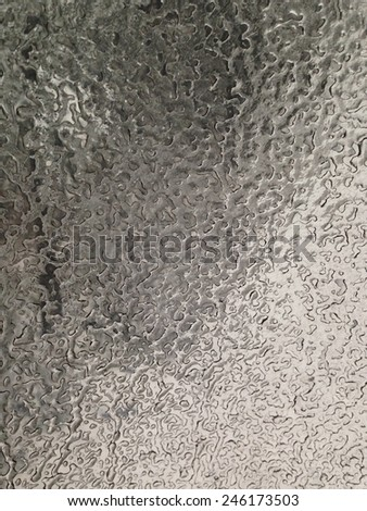 Sheet of ice. - stock photo