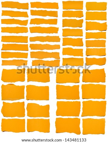 Sheet of paper folded over black background - stock photo