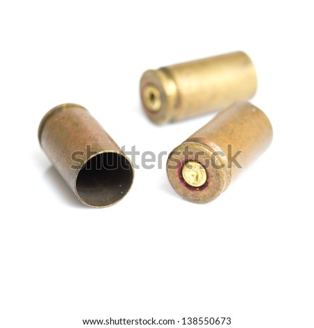 shells of bullets - stock photo