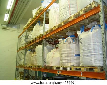 shelves - stock photo