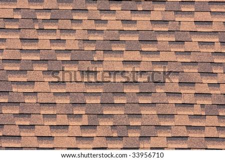 Shingle texture - stock photo