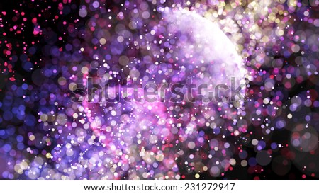 shining stars - stock photo