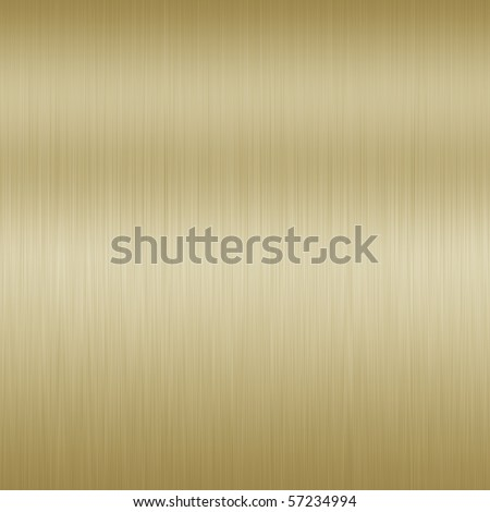 Shiny Bronze Brushed Steel. Texture or background. - stock photo