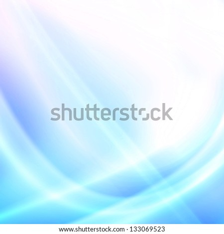 shiny lights, abstract futuristic background - stock photo