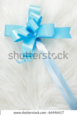 Shiny Ribbon - stock photo