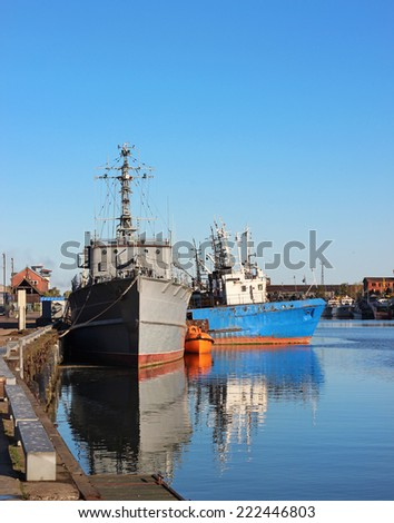ships - stock photo
