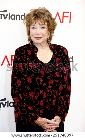 Shirley MacLaine at the 40th AFI Life Achievement Award Honoring Shirley MacLaine held at the Sony Studios in Los Angeles, United States, 070612.  - stock photo