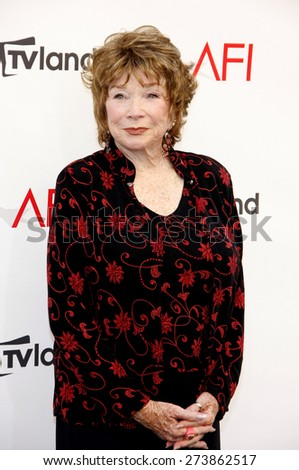 Shirley MacLaine at the 40th AFI Life Achievement Award Honoring Shirley MacLaine held at the Sony Studios in Los Angeles on June 7, 2012. - stock photo