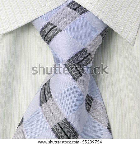 shirt and fashion tie - stock photo