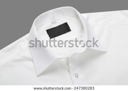 Shirt collar - stock photo
