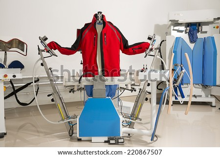 Shirt Ironing Machine - stock photo