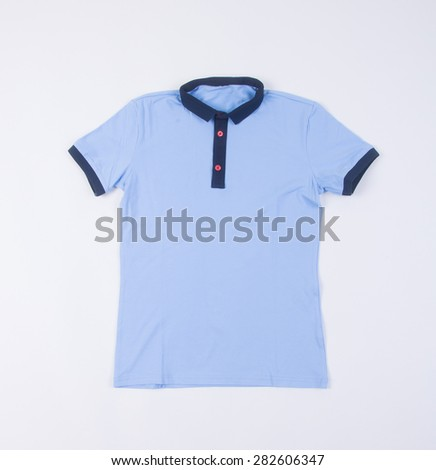 shirt. mens shirt on background. mens shirt on a background - stock photo