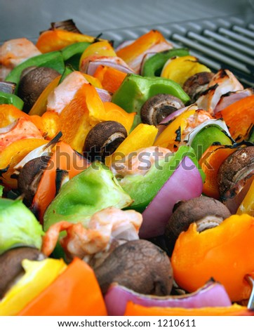 Shish-Kebobs - stock photo