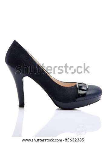 shoe isolated - stock photo