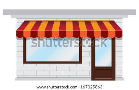 shop icon - stock photo