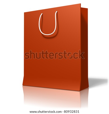 Shopping bag - stock photo