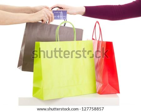 Shopping tour - stock photo
