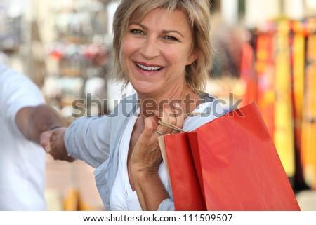 shopping trip - stock photo