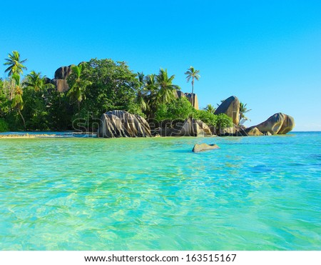 Shore Exotic Summer  - stock photo