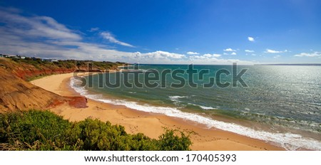 Shore of Great Ocean Road, Victoria, Australia  - stock photo