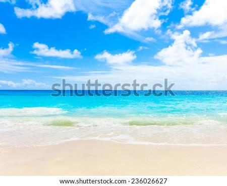 Shore Sea Landscape  - stock photo