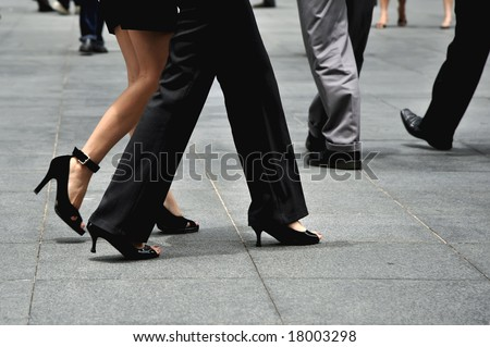 shot depicting a very fast paced lifestyle - stock photo