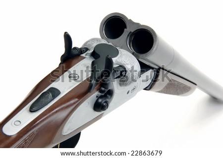 shotgun mechanism - stock photo
