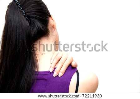 Shoulder Painful - stock photo