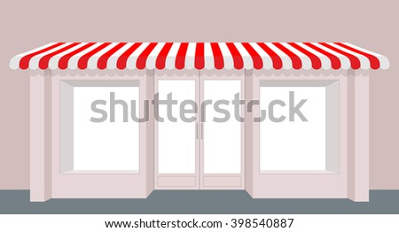 Store Doors Clipart stock images similar to id 91139765 - shop with glass windows and