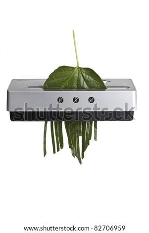shredder - stock photo