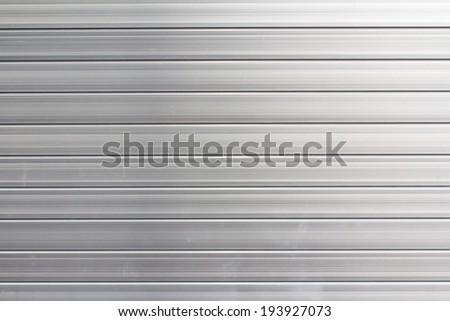 Shutter steel door texture  - stock photo