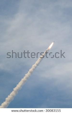 Shuttle Launch - stock photo