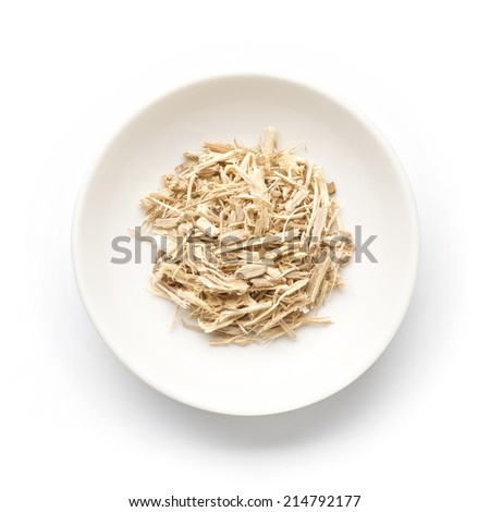 Siberian ginseng - stock photo