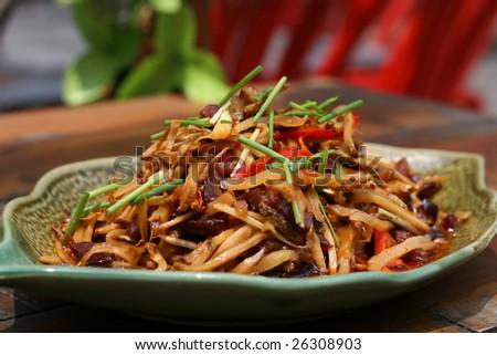 Sichuan Cuisine - stock photo
