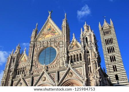 Siena in Italy - stock photo