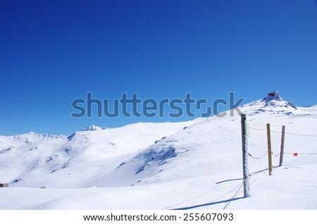 Sierra Nevada mountains in Spain - stock photo