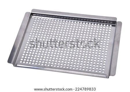 Sieve, Isolated On White Background - stock photo