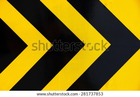 Sign color traffic - stock photo
