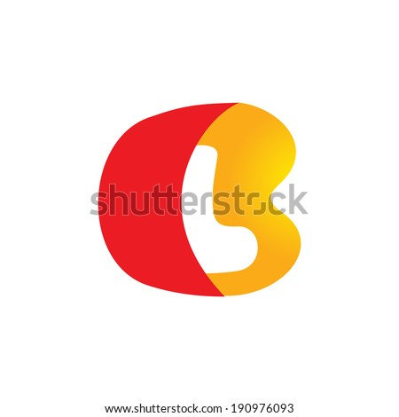 Sign the letter B and L Branding Identity Corporate logo design template Isolated on a white background - stock photo