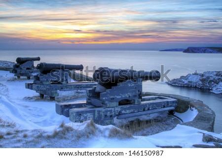 Signal Hill, Newfoundland - stock photo