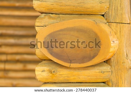 Signpost on the wood background - stock photo